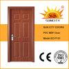 中国PVC MDFの木の安いドア(SC-P101)