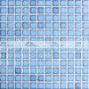 плитка мозаики плавательного бассеина кадра 23X23mm застекленная кристаллом (BCH607)