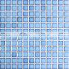 23X23mm Rahmen-Kristall glasig-glänzende Swimmingpool-Mosaik-Fliese (BCH607)
