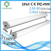 新しいUnderground Parking Lot Warehouse Use Waterproof Aluminum 4ft IP65 LED Linear Light