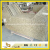 Tiger Skin Yellow Granite Laminate Countertop for Kitchen Decoration