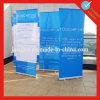 Annonçant aluminium bleus rouleau vers le haut le stand de bannière