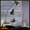 Lâmpada de tabela ajustável da leitura da cor de bronze (KAT6057)