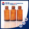 Manufatura 100ml Brown Glass Bottle para Syrup