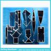Profil en aluminium industriel de fabricant professionnel avec formes de conception de client différentes