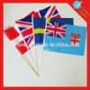 Kundenspezifisches Hand Flag Waving Flag für Sports oder Events