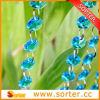 Schönes Sky Blue Crystal Bead Curtain Design für Home Decoration