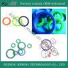 Joints colorés de joint circulaire en caoutchouc de silicones de qualité