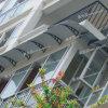 De Luifel van de Voordeur van het Polycarbonaat DIY, de Plastic Prijzen van Grondstoffen (A38)