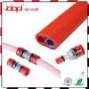 Благонадежный разъем Microduct, Fibre-Optical красный ясный штуцер, волокно дуновения воздуха