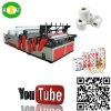 Rolo de alta velocidade do tecido da impressão que faz o equipamento da máquina