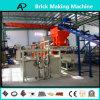 Конкретный блок кирпича цемента делая производственную линию машинного оборудования