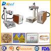 Anillo de la marca de la etiqueta de plástico del laser de la fibra de Ipg 20W/metal/venta de madera/plástica