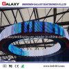 Visualización de pantalla de alquiler curvada al aire libre de interior de la dimensión de una variable LED del arco P2.98/P3.91/P4.81/P5.95