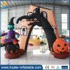 Guangzhou fábrica inflables decoración de Halloween, productos inflables de Halloween Arco en Venta