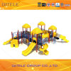 Игрушки и качание напольной спортивной площадки больших популярных детей пластичные