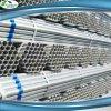 Труба HDG строительного материала черного листового железа гальванизированная углеродом стальная