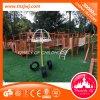 매력적인 아이들 옥외 적당 나무로 되는 운동장 장비