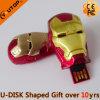 De Aandrijving van de Flits van de Mens USB van het ijzer voor Vrije Gift (yt-3710)