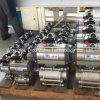 De pneumatische 3PC Kogelklep van de Draad Met het Opzetten van ISO 5211 Stootkussen