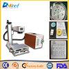 Mopa 20W Farben-Faser-Laser-Markierungs-Maschinen-Markierung auf Metall