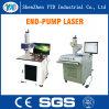Máquina de la marca del laser de la Fin-Bomba para la telecomunicación, piezas de metal