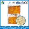 Померанцовый мешок сетки Drawstring Flat&Round цвета с логосом клиента для Vegetables&Fruits