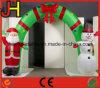 Aufblasbare Weihnachtsdekoration, aufblasbarer Weihnachtsbogen
