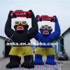 Reproduction de publicité gonflable de gorille pour la promotion