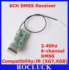 Récepteur de Dm660e Microlite 6-Channel Dmss pour le JR (XG7, XG8)