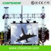 Schermo di visualizzazione esterno del LED dell'affitto di Chipshow P16