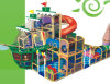 Niños de interior Playground Amusement Park (HAP-14302)