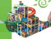 Parc d'attractions pour enfants à l'intérieur des enfants (HAP-14302)