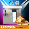 CE caldo Approved Bakery Rotary Rack Ovens di Selling da vendere
