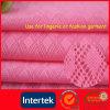 Stof van de Jacquard van de Diamant Spandex van de rek de Nylon voor Bustehouder of Lingerie in Roze Kleur die door Saai Garen 40d/20d met In te ademen & AntiPilling Fuction (WNE3108) wordt gemaakt