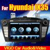 Reproductor de DVD GPS del coche para Hyundai Ix35 Tucson