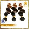 Cutícula llena de pelo onda del cuerpo de la calidad estupenda T Tono de color de pelo 8A grado 100% de la Virgen del pelo humano
