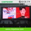 Chipshow P26.66 LED a todo color impermeable al aire libre que hace publicidad de la exhibición