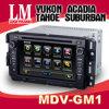 2 de Speler van de Auto DVD van DIN Op maat gemaakt voor GMC (GM-1)
