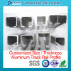 ألومنيوم انبثق قطاع جانبيّ لأنّ أثر سكّة حديديّة/مرشدة