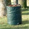 Surgir el bolso de las hojas de la basura del jardín