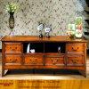 고대 Solid Wood 또는 Wooden/Timber 침실 텔레비젼 Cabinet (XS9-060)