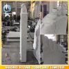 백색 대리석 묘석 성난 새 기념물
