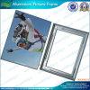 Marco de aluminio del broche de presión del cartel A4 (M-NF22M01102)