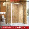 Caixa quadrada de vidro bonita grossa do chuveiro da ferragem da alta qualidade