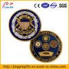 3D Metal Shield wir Military Challenge Coin