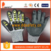 Shell 2017 de Ddsafety Hppe con el nitrilo negro que cubre el guante Finished liso