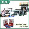 Automatische Energie-Einsparung Paper Bag Making Machine mit Flexo Printing