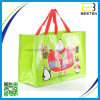Saco não tecido relativo à promoção laminado forma personalizado dos sacos de Tote
