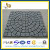 Granite ingranato Cube Stone per Outside Landscape
